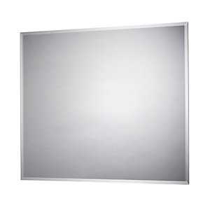 iflo Vela Portrait Bevelled Bathroom Mirror 600 x 500mm