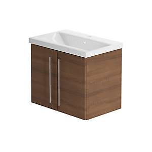 Be Modern 600mm Zest Vanity Unit Walnut