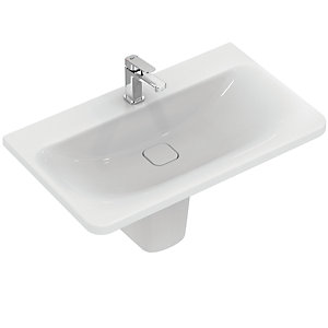 Ideal Standard Tonic II 800m Vanity Basin 1 Tap Hole & Overflow