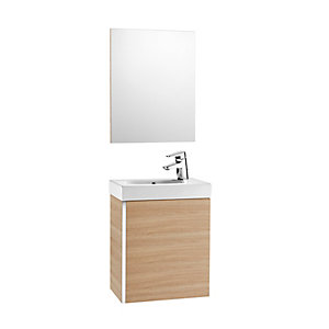 Roca Mini 855865155 Unit Pack With Mirror Oak