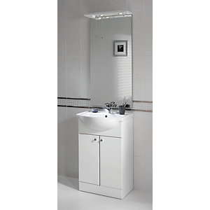 iflo Tanaro Base Unit Including Basin 780 x 550mm White