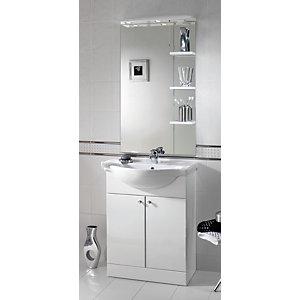 iflo Tanaro Base Unit Including Basin 780 x 650mm White