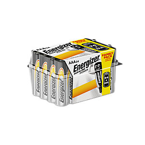Energizer AAA - Family Pack of 24 Alkaline Batteries