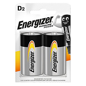 Energizer Max D E95 BP Battery 2 Pack