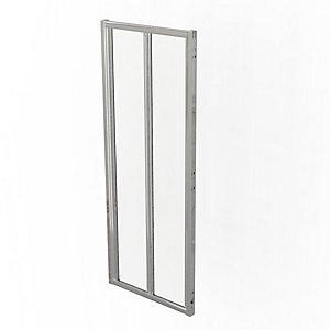 Kudos 3CS80S Sliding Corner Silver 800 mm