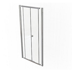 Kudos Infinite Bifold Door Shower Enclosure 1200 mm 4BF120S