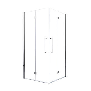 Novellini Young Clear Glass Bi-Fold Shower Door 2000mm x 870mm-890 mm (Right Hand) Y22GS87LD-1K