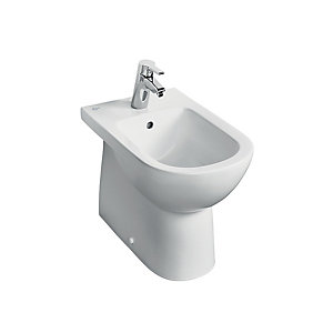 Ideal Standard Tempo Floor Standing Back To Wall Bidet T509001