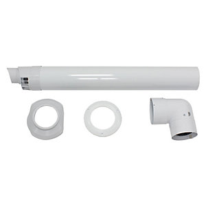 Glow-worm Horizontal Flue Duct DN80/125 Pp 0020257018