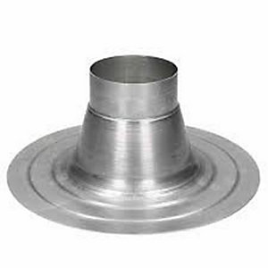 Ideal Classic Flat Roof Boiler Flue Weather Collar 100mm 152259