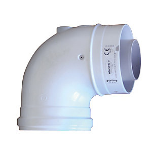 Ideal V3 90 Degree Boiler Flue Elbow
