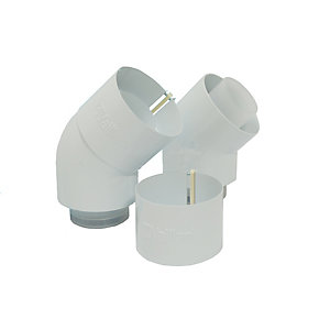 Vaillant 45 Degree Boiler Flue Elbow
