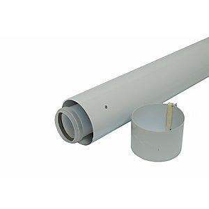 Vaillant 970mm Boiler Flue Duct Extension 100mm Diameter