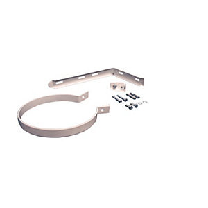 Worcester Boiler Flue Support Bracket Kit 80mm/125mm White