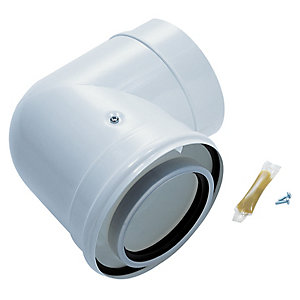 Worcester Bosch Greenstar Oilfit 90 Degree Boiler Flue Elbow 100mm/150mm