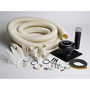 Worcester Greenstar Oilfit 100mm Flexible Flue Kit 15 Metre