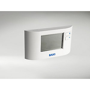 Baxi EcoBlue Single Channel Wired Programmable Thermostat