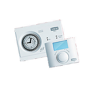 Ideal RF Vogue Mechanical Timer & Room Thermostat