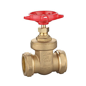 35mm Brass Gate Valve Wheel Head BS5154
