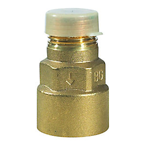 Gas Cooker Straight Bayonet Socket Connector 1/2""