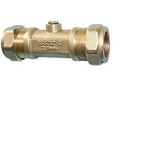 H-10101 28mm Double Check Valve DZR