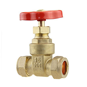 Light Pattern Gate Valve 15mm