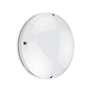 Kosnic KBHCT12C6S65/E-W40 IP65 Bulkhead with Build-in 12W LED Tray and Emergency