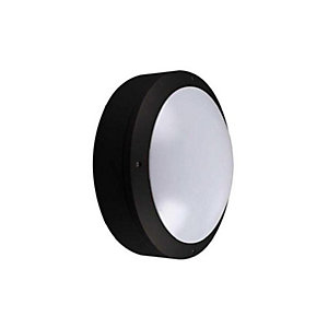 Kosnic KBHDDC3S65-BLK Circular Cast Bulkhead Plain Option Black