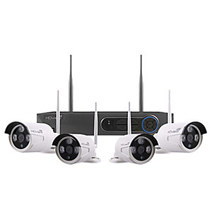 Esp FHDV4KB4WF 4 Camera Wireless CCTV Kit - 500GB