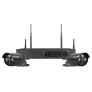 Esp FHDV4KBBWF 2 Camera Wireless CCTV Kit - 500GB
