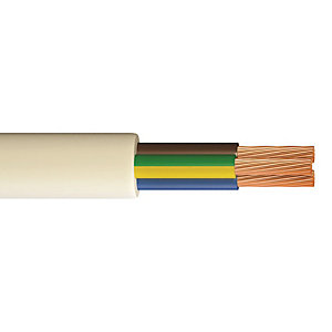 3093Y 1.5mm 3 Core Heat Resistant Cable - 10M Pack