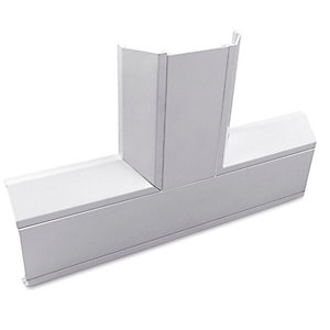 Univolt CFT50/170 50 x 170mm 3 Compartment Dado Trunking Flat Tee