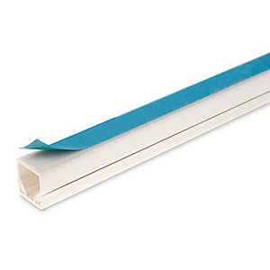 Univolt MIKA1 16 x 16mm 3m Self Adhesive Mini Trunking