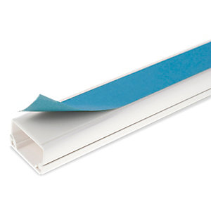 Univolt MIKA3 40 x 16mm 3m Self Adhesive Mini Trunking