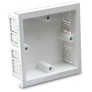 Univolt SLB1 50 x 170mm 1 Gang Starline Single Outlet Box