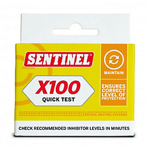 Sentinel X100 Quick Test Kit X100T-QT-GB