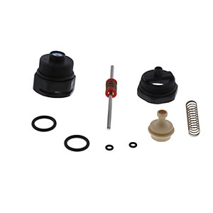 Glowworm 0020119266 Black Nut AND 'S'pindle Kit