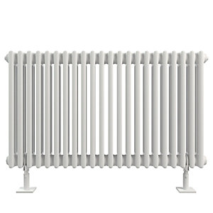 Stelrad Softline 2 Column Radiator Horizontal K2 White - 600 x 1042 mm