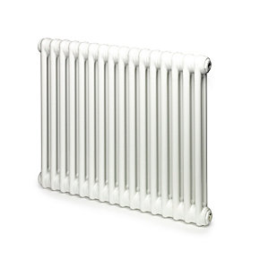 Windsor 2 Column Radiator Horizontal White 600 x 394mm