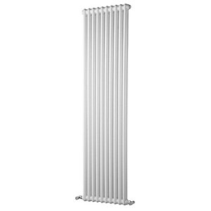 Windsor 2 Column Radiator Vertical White 1800 x 578mm