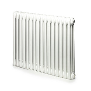 Windsor 3 Column Radiator Horizontal White 500 x 394mm