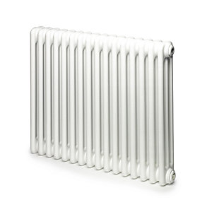 Windsor 3 Column Radiator Horizontal White 750 x 486mm