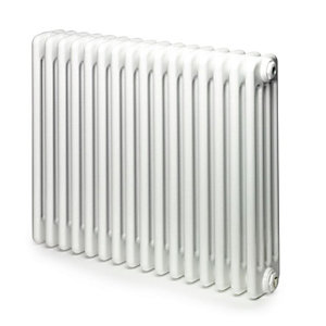Windsor 4 Column Radiator Horizontal White 600 x 1176mm