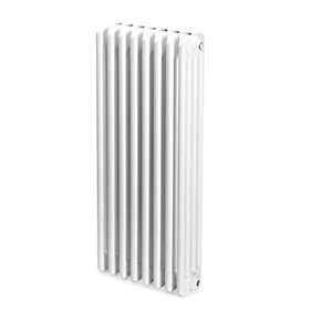 Windsor 4 Column Radiator Horizontal White 750 x 394mm