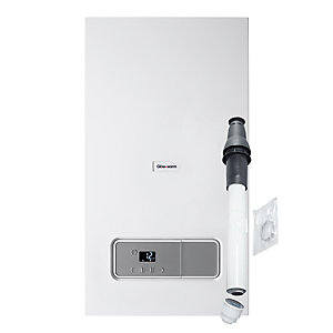 Glow-worm Betacom4 30kW Gas Combi Boiler and Horizontal Flue Pack