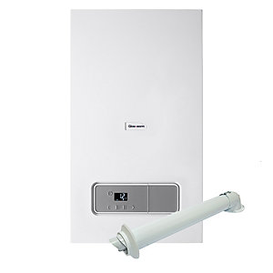 Glow-worm Energy 25C 25kW Combi Boiler with Horizontal Flue Pack 10015652