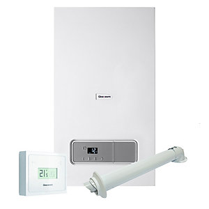 Glow-worm Energy 25C 25kW Combi Boiler with Horizontal Flue and MiGo Control Pack 10015652
