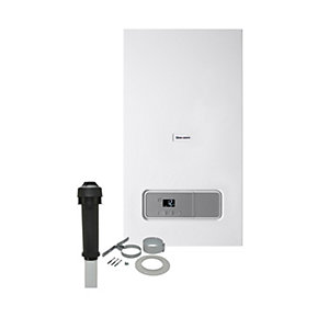 Glow-worm Ultimate 3 30kW Gas Combi Boiler & Vertical Flue Pack
