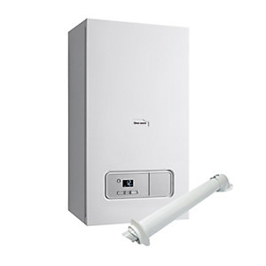 Glow-worm Ultimate 3 35kW Combi Boiler and Horizontal Flue plus 10 Year Warranty Pack 10021405