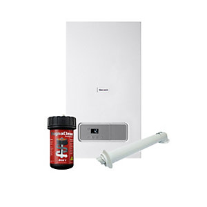 Glow-worm Ultimate3 35kW Combi Boiler with Horizontal Flue and Free Adey Filter plus 10 Year Warranty 10021405